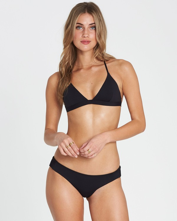 0 Sol Searcher Fixed Triangle Bikini Top Black XT27LSOL Billabong