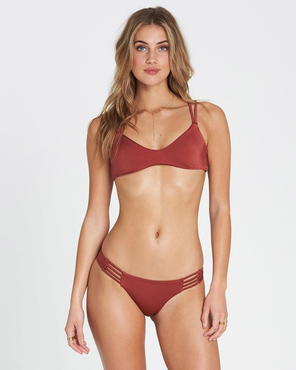 0 Sol Searcher Crossback Bikini Top Red XT29QBSO Billabong