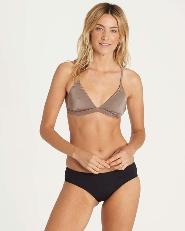 0 It's All About The Triangle Bikini Top Beige XT51JITS Billabong