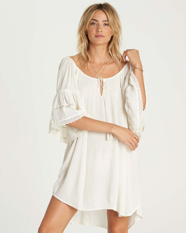 0 Far Off Star Cover Up Dress Beige XV03NBFA Billabong