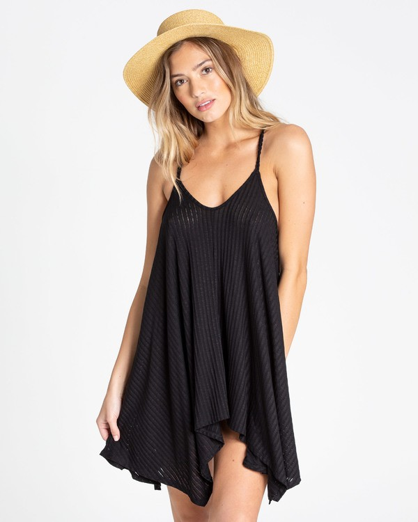 0 Twisted View 2 Swim Cover Up Black XV04TBTW Billabong