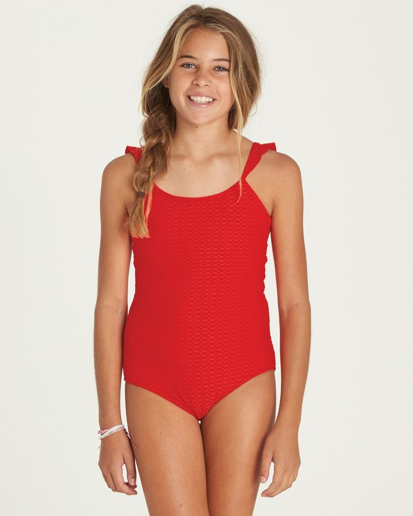 0 Girls' Makin' Shapes One Piece Swim  Y105PBMA Billabong