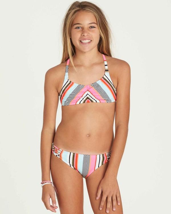 0 Girls' Like That Crossback Swim Set  Y203PBLI Billabong