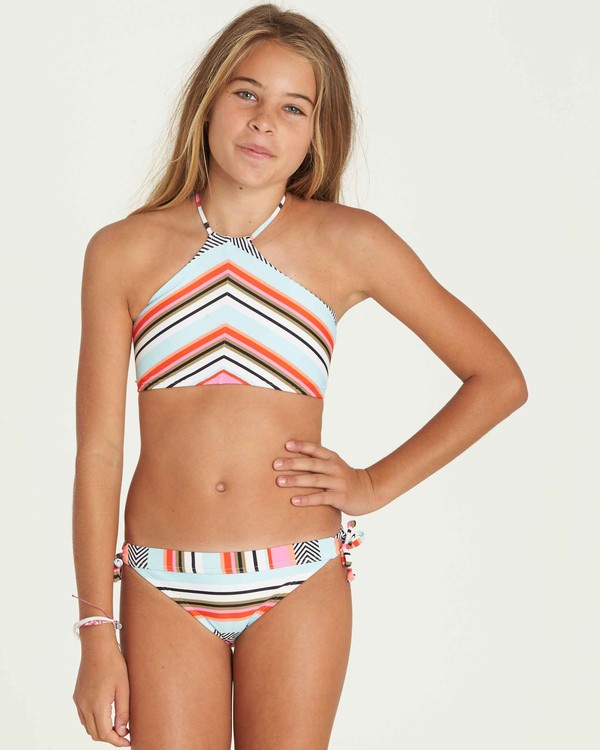 0 Girls' Like That High Neck Swim Set  Y204PBLI Billabong