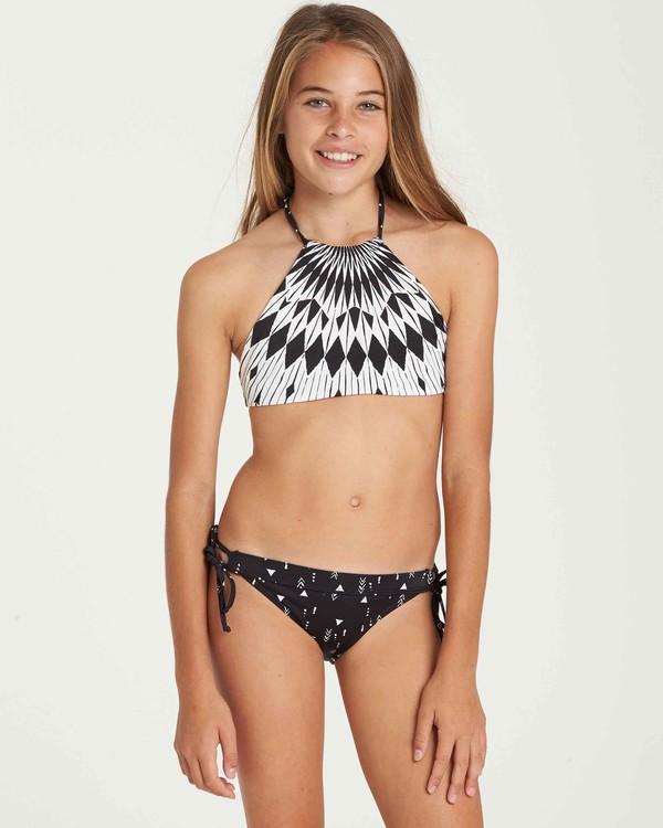 0 Girls' Sundial Reversible High Neck Swim Set  Y210QBSU Billabong