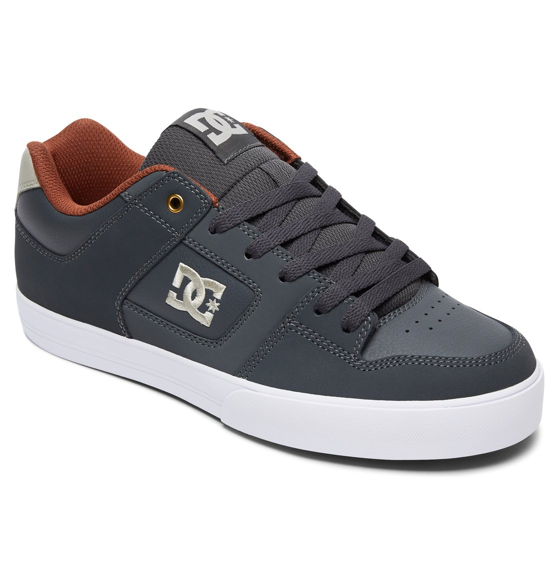 DC Shoes Men's Pure M Low Top Shoes White Black (XKWK) 8 kwGmyz