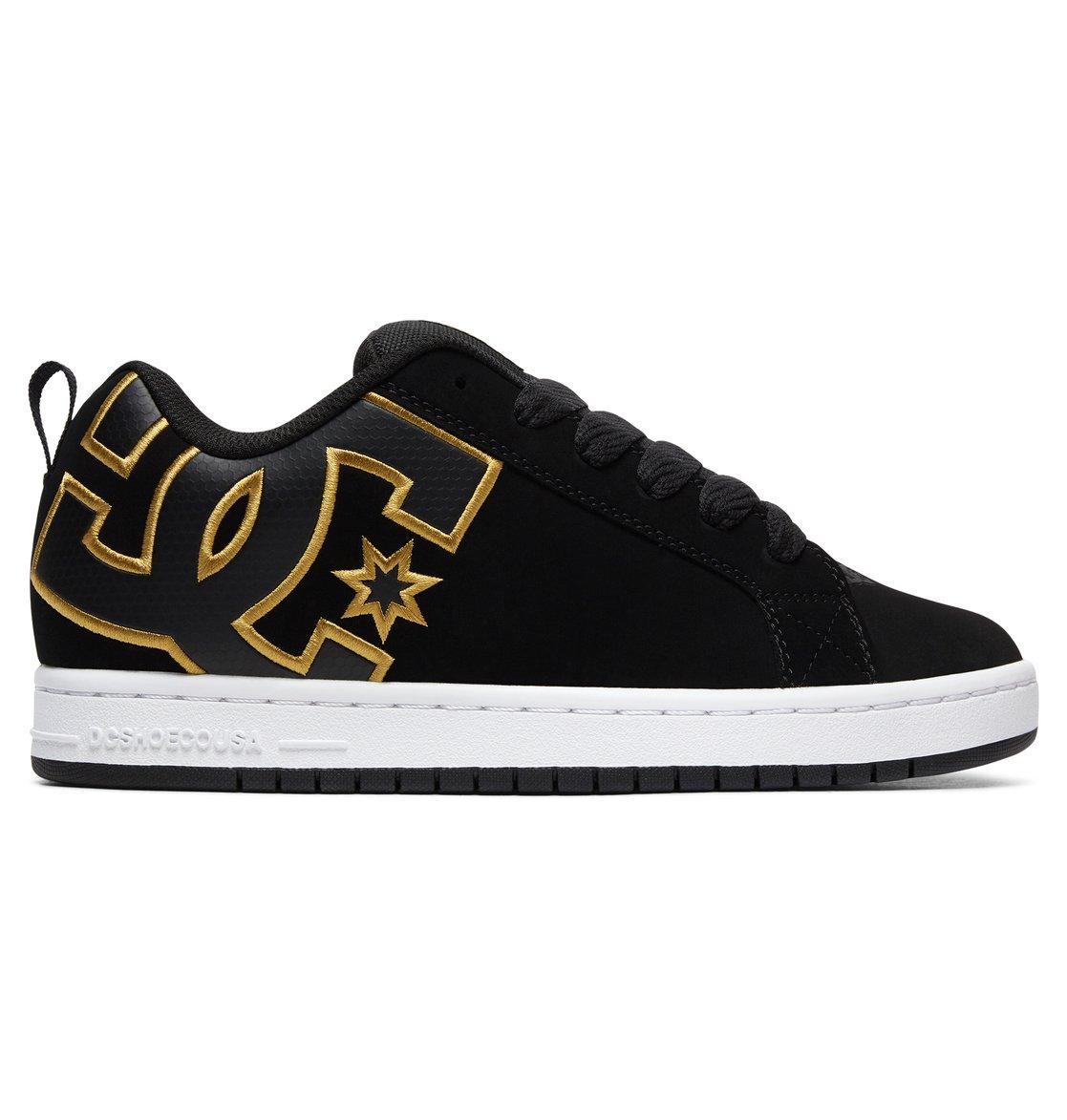 DC Shoes COURT GRAFFIK SE M SHOE GRW Gris / Noir YjsdS