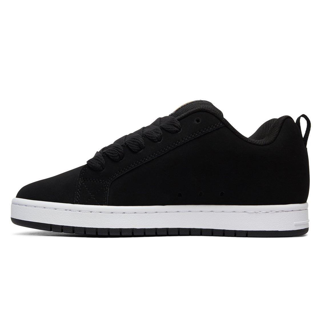 DC Shoes Men's Court Graffic Se Low Top Shoes White/Black 11 XdY8M