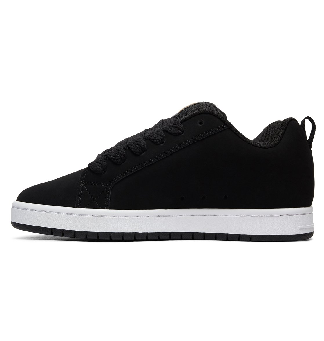DC Shoes Men's Court Graffic Se Low Top Shoes White/Black 11
