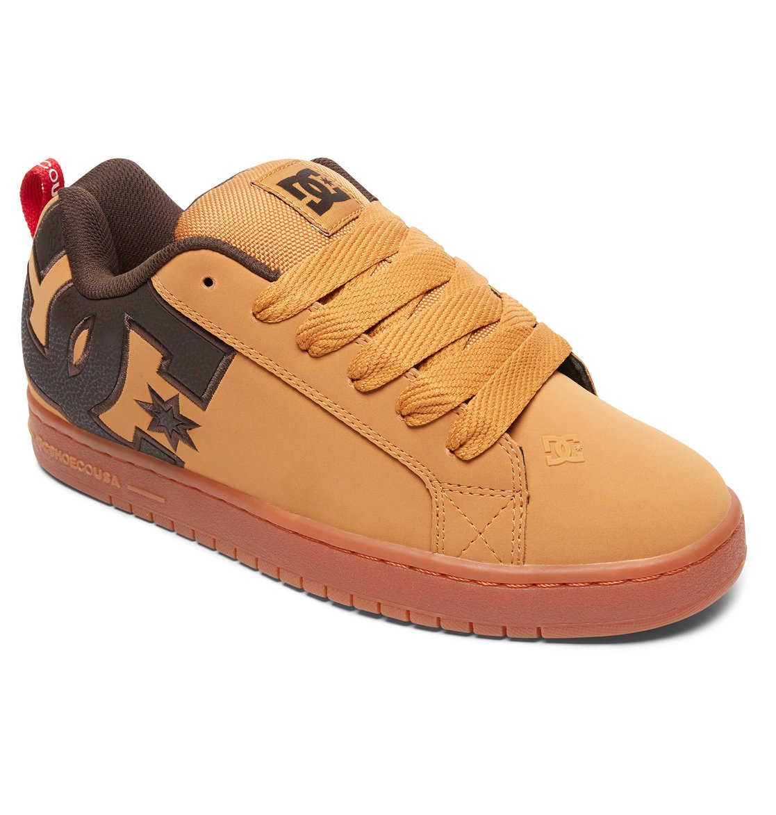 1 Court Graffik SE - Scarpe da Uomo Brown 300927 DC Shoes 7de34cbd3be