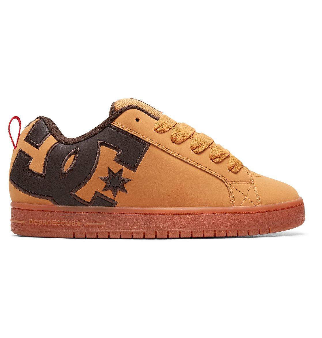 0 Court Graffik SE - Scarpe da Uomo Brown 300927 DC Shoes e5b6af48adf