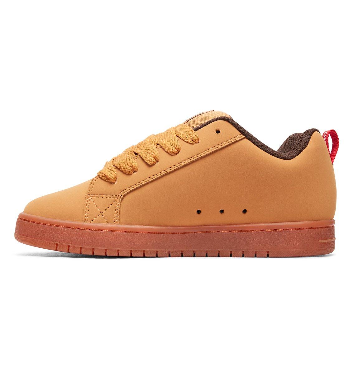 2 Court Graffik SE - Scarpe da Uomo Brown 300927 DC Shoes f4e64cc78ca
