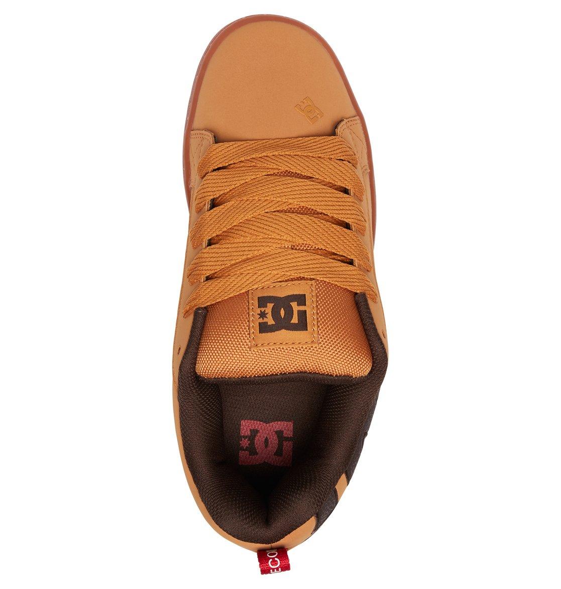 3 Court Graffik SE - Scarpe da Uomo Brown 300927 DC Shoes 22e3723299e