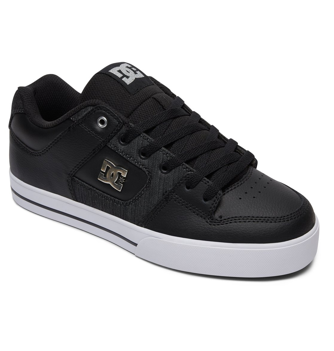 Black Black Grey Dc Shoes Pure Se
