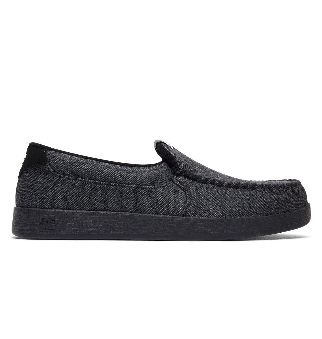 DC Shoes Men's Villain TX Slip on Low Top Shoes Gray White (GWH) 8.5