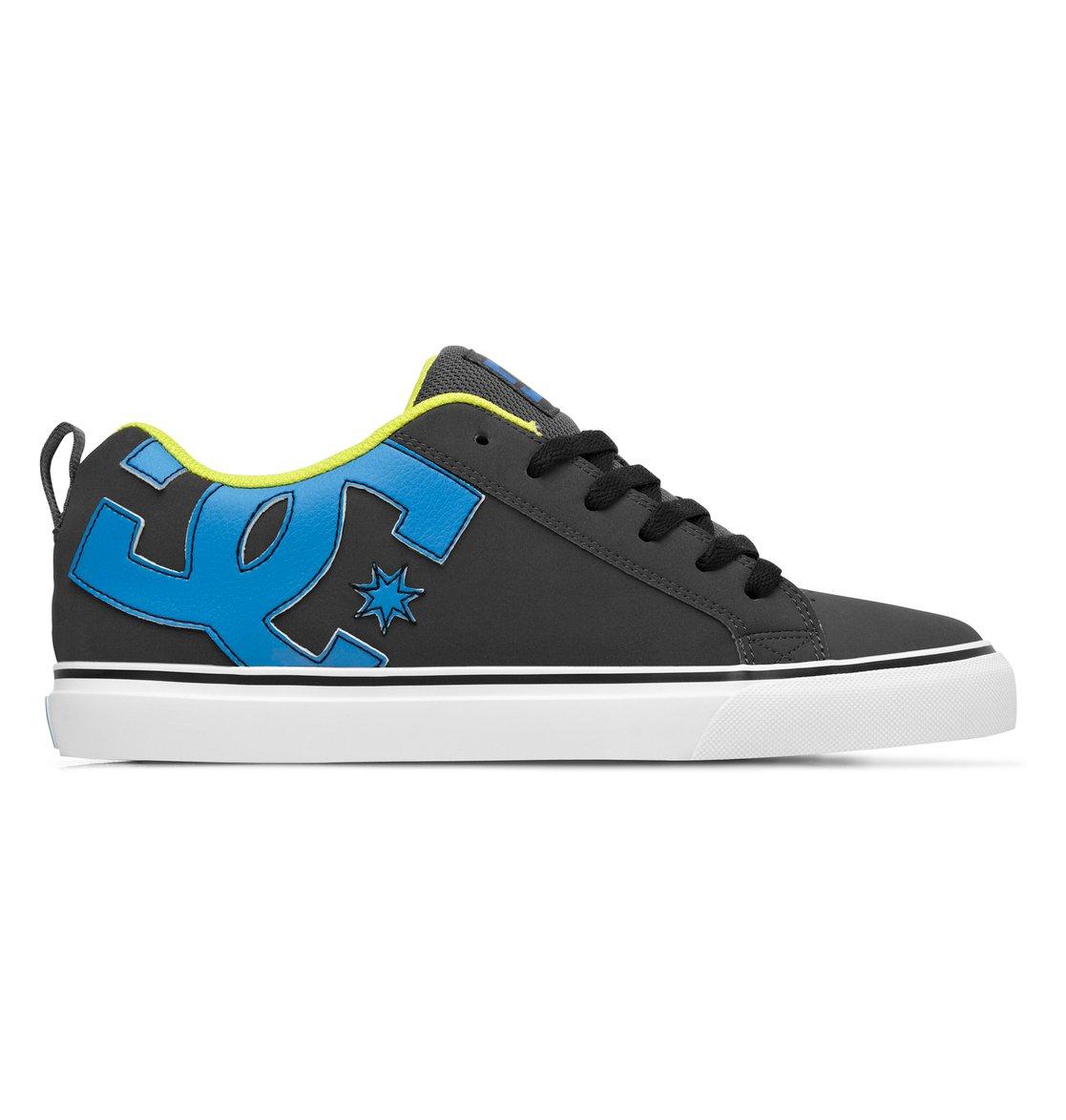 Mens Court Vulc Shoes 303181 Dc D Island Slip On British Comfort Leather Dark Brown 0