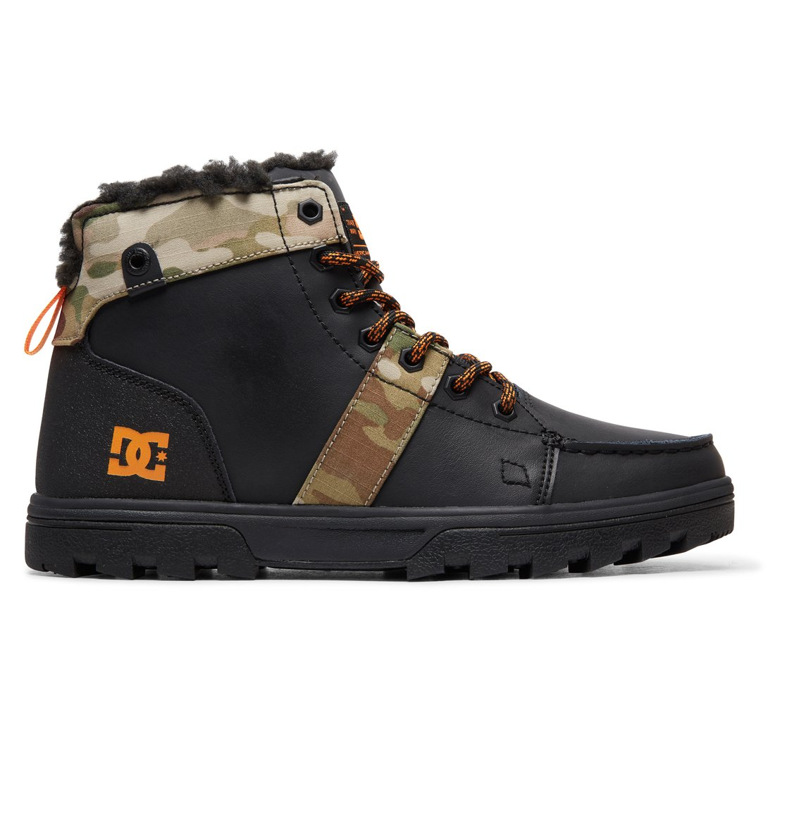 Woodland Lace Up Boots For Men 303241 Dc Shoes