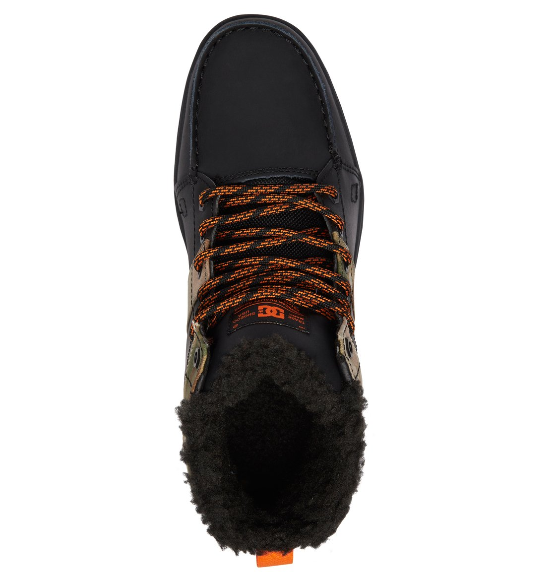 06363a24e635ef 3 Woodland - Bottes à lacets pour Homme Noir 303241 DC Shoes