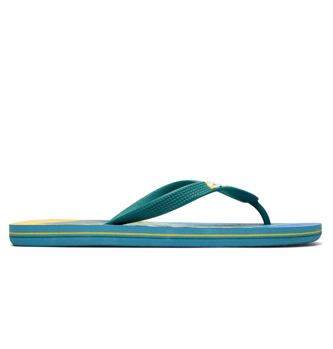 ede8d6ab3b501 1 Spray Graffik - Flip-Flops Blue 303276 DC Shoes