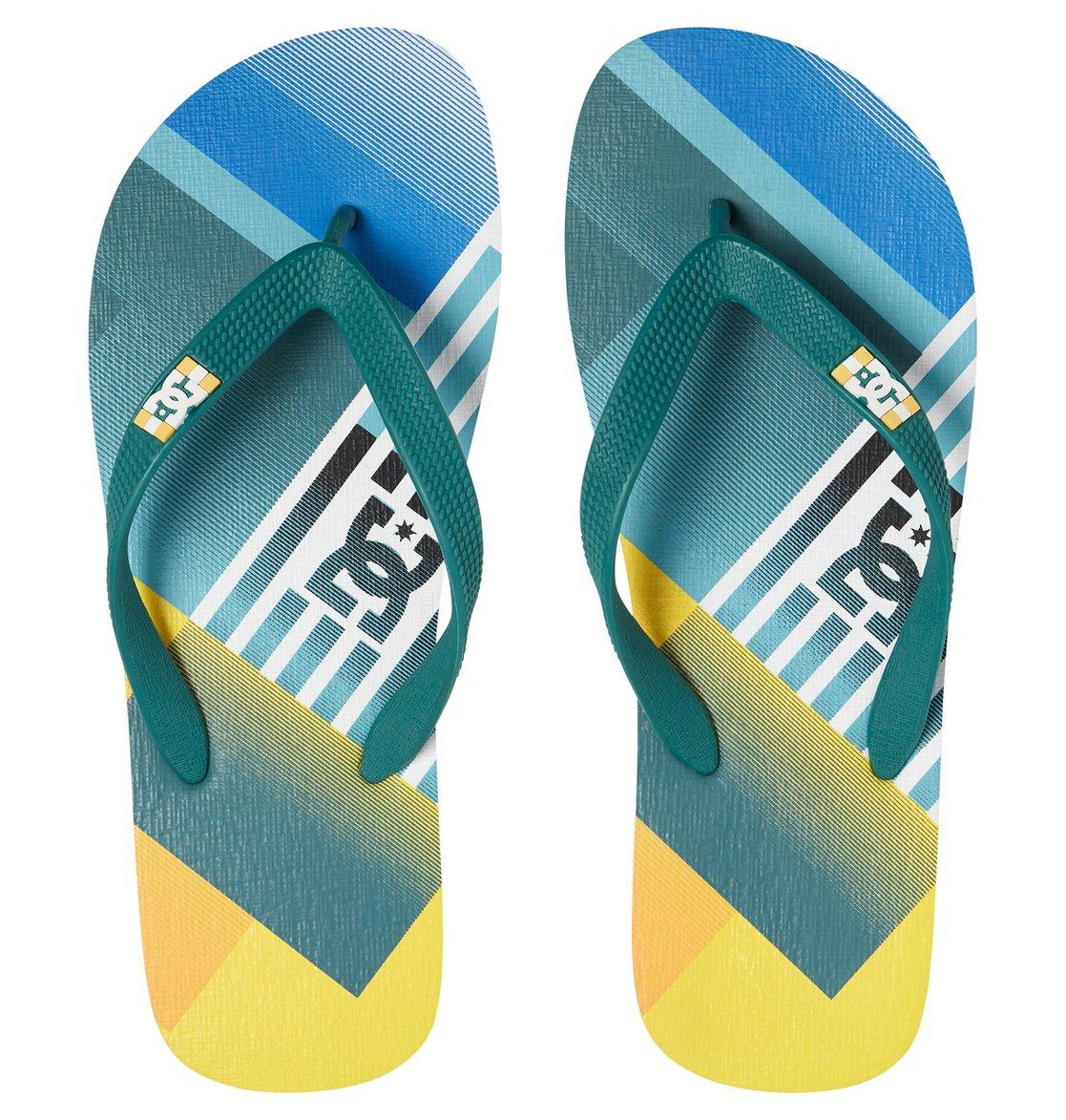 444e2bd80ace9 2 Spray Graffik - Flip-Flops Blue 303276 DC Shoes