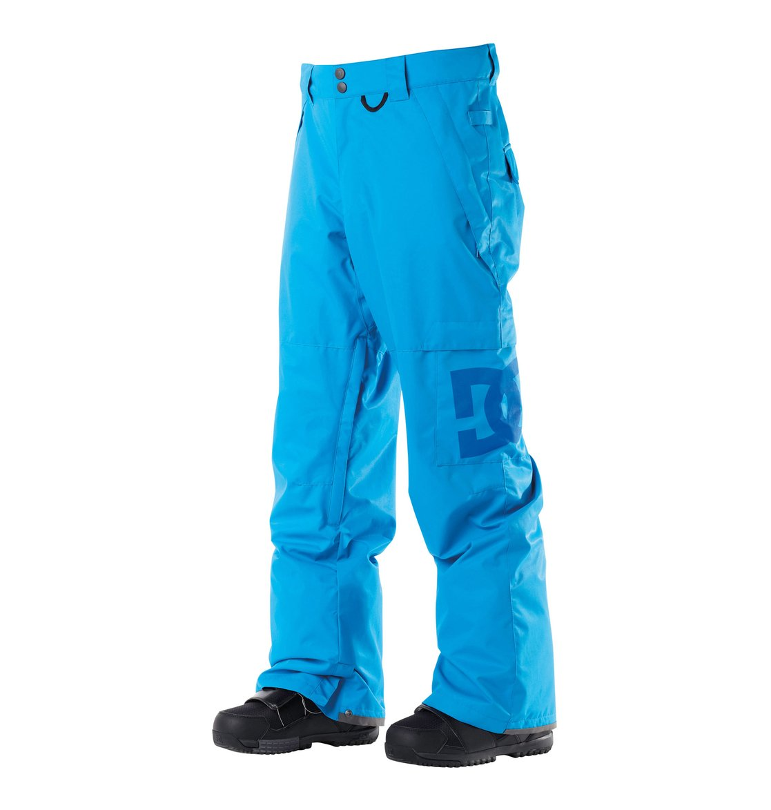 Snow womens pants for skiing and snowboarding photo