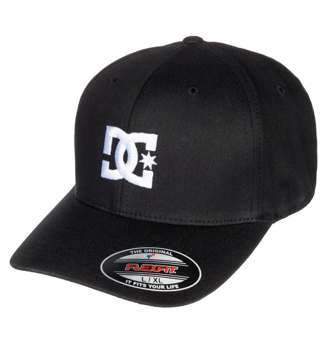 0 Cap Star 2 - Gorra Flexfit para Hombre Negro 55300096 DC Shoes 988a911a069