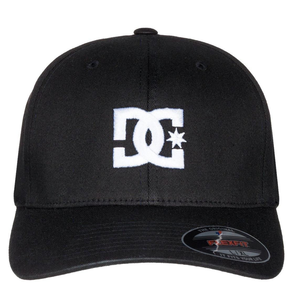 1 Cap Star 2 - Flexfit® Cap for Men Black 55300096 DC Shoes a54dd5554b19