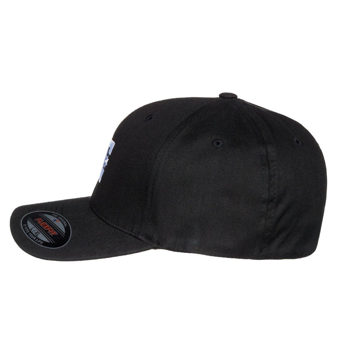 2 Cap Star 2 - Gorra Flexfit para Hombre Negro 55300096 DC Shoes 2c3b517a1f3
