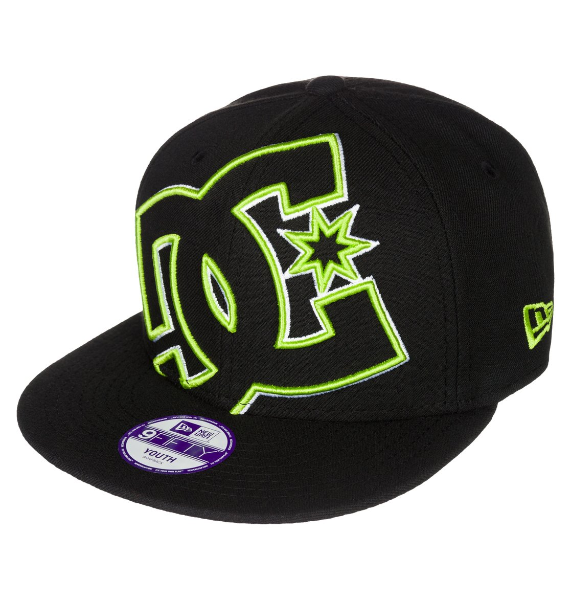 0 Kid s Double Up Snapback Hat ADBHA03010 DC Shoes f3df6e34bc5