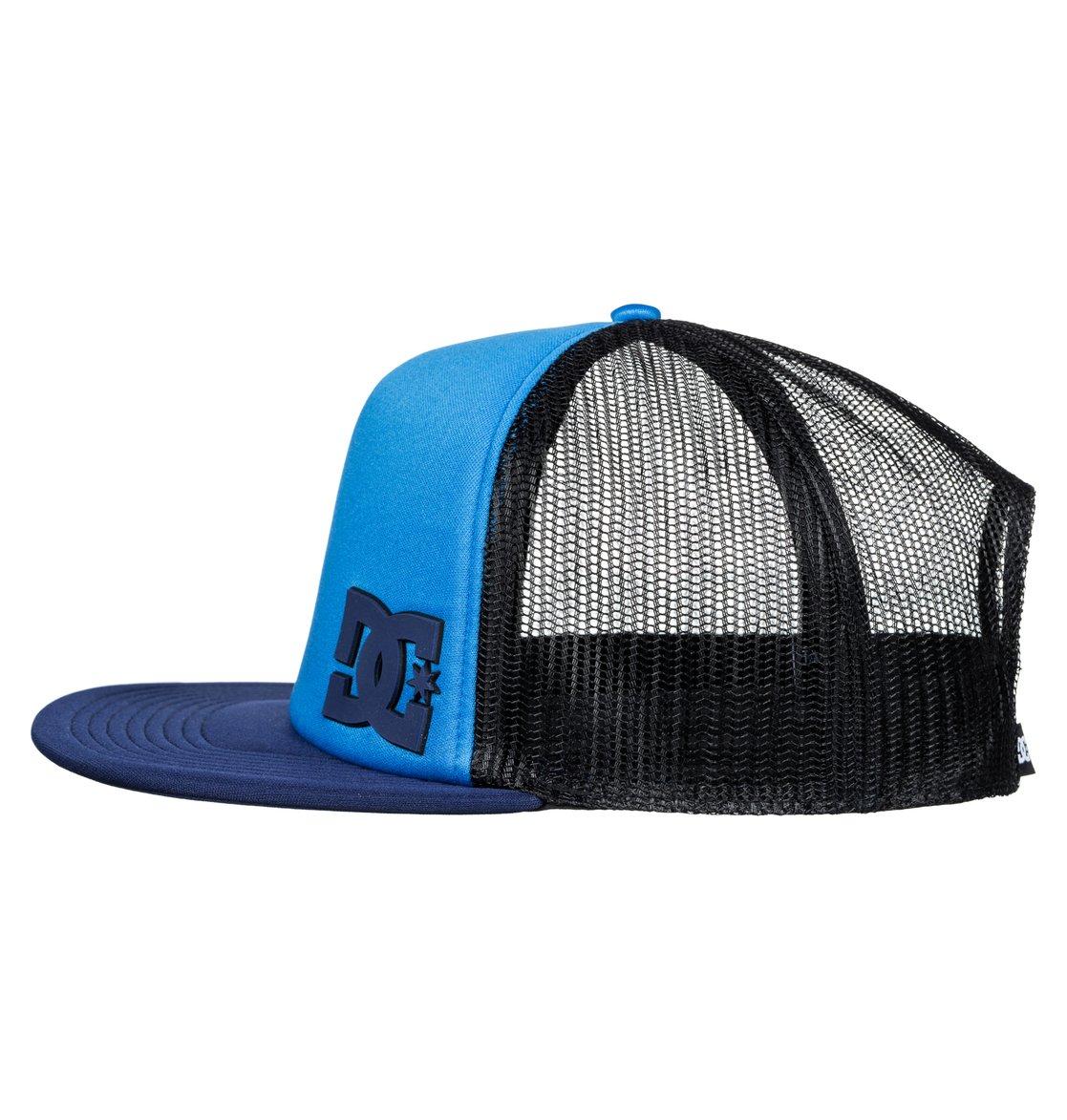1 Madglads - Trucker Cap Blue ADBHA03048 DC Shoes d13988099dbf