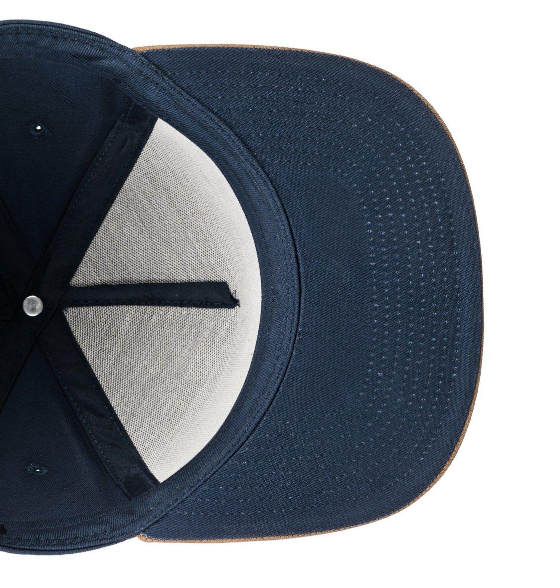 3 Dacks - Cappellino snapback da Ragazzo 8-16 Blue ADBHA03075 DC Shoes e6fc41a89d0e