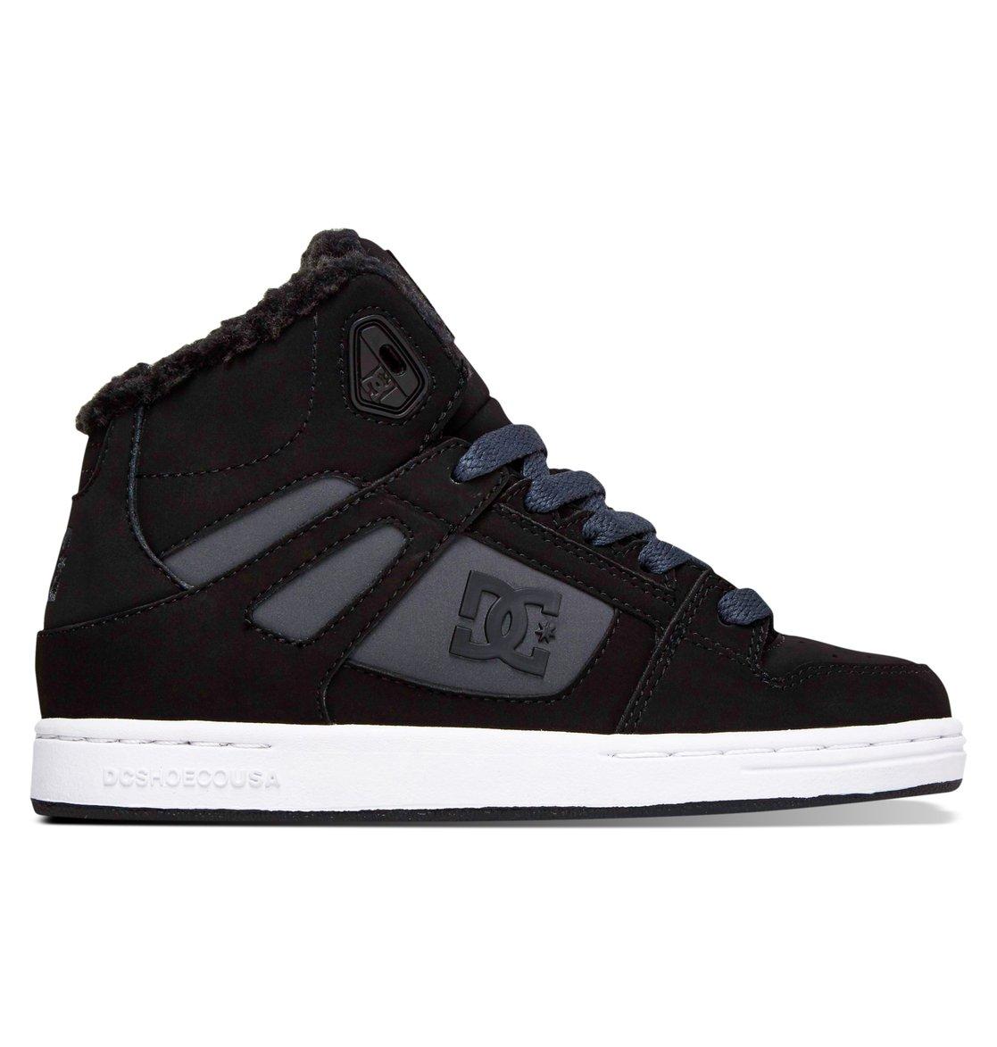 0 Kids 8-16 Rebound WNT High-Top Shoes ADBS100076 DC Shoes c83df77e2576