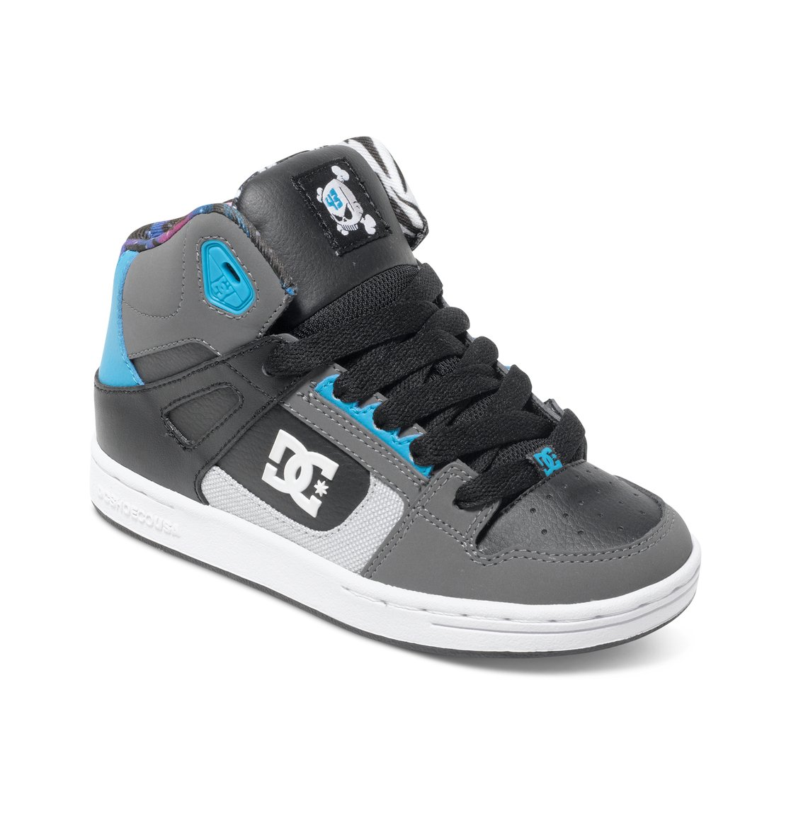 boy 39 s 8 16 rebound ken block high top shoes adbs100149. Black Bedroom Furniture Sets. Home Design Ideas