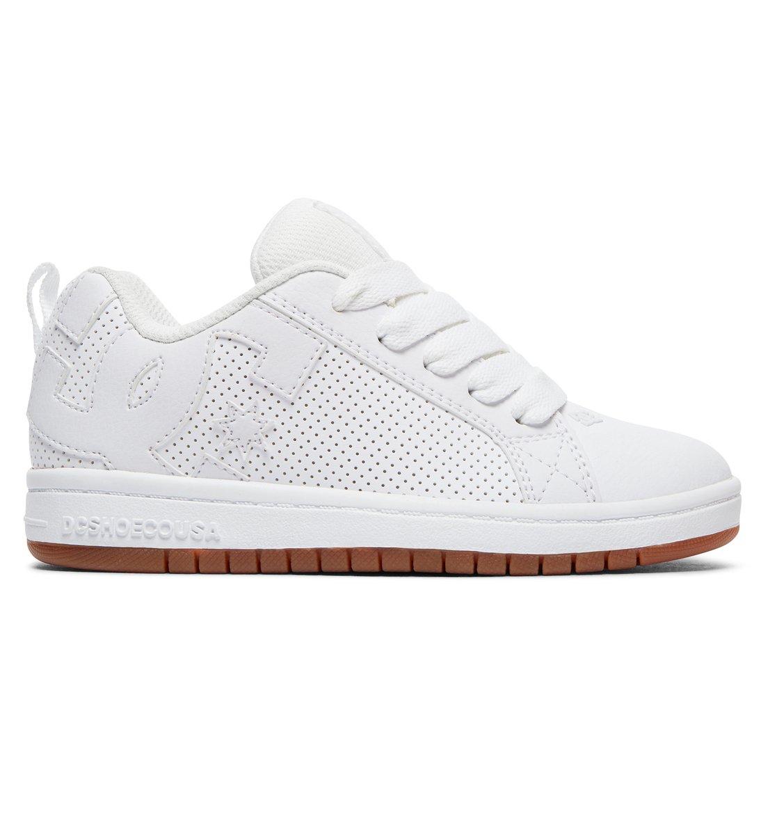 DC Shoes Meridian - Shoes - Baskets - Homme - US 7/UK 6/EU 39 - Blanc