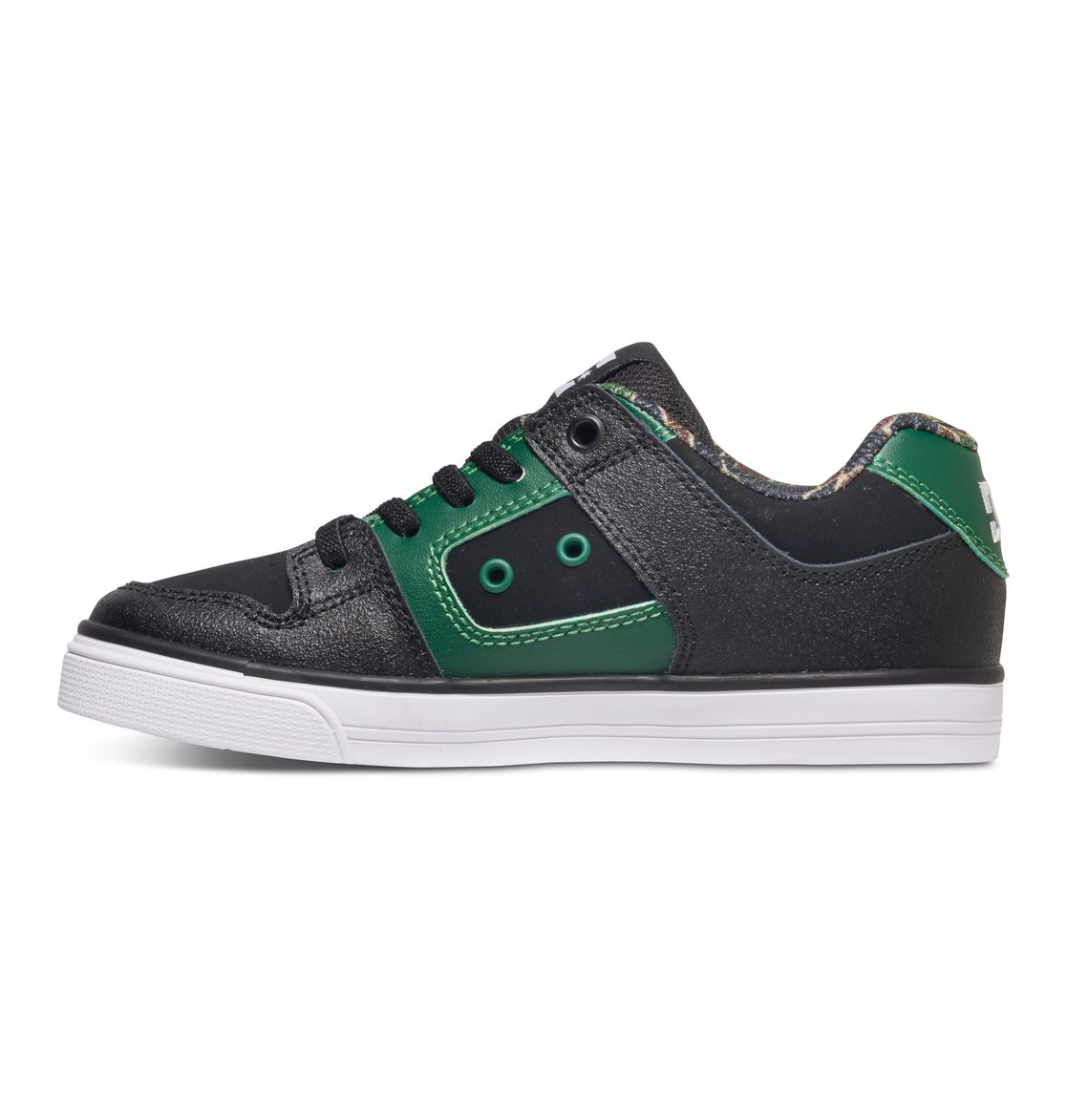 Dc Shoes Pure Elastic B Shoe, Color: Black/White/Blue, Talla: 35 EU