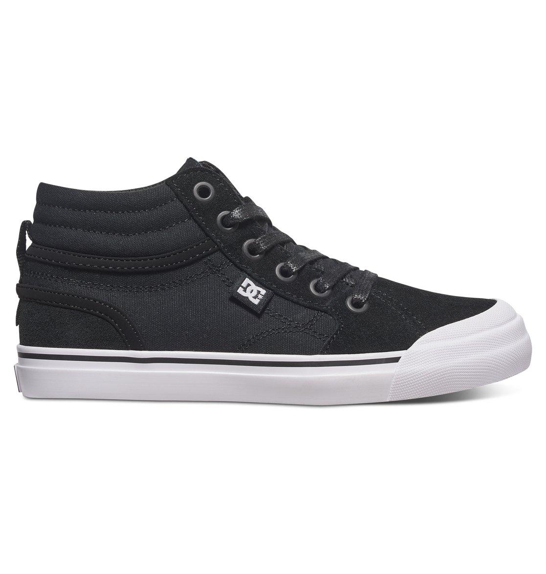 DC Shoes Hi Tops »Evan HI«, schwarz, Black/white