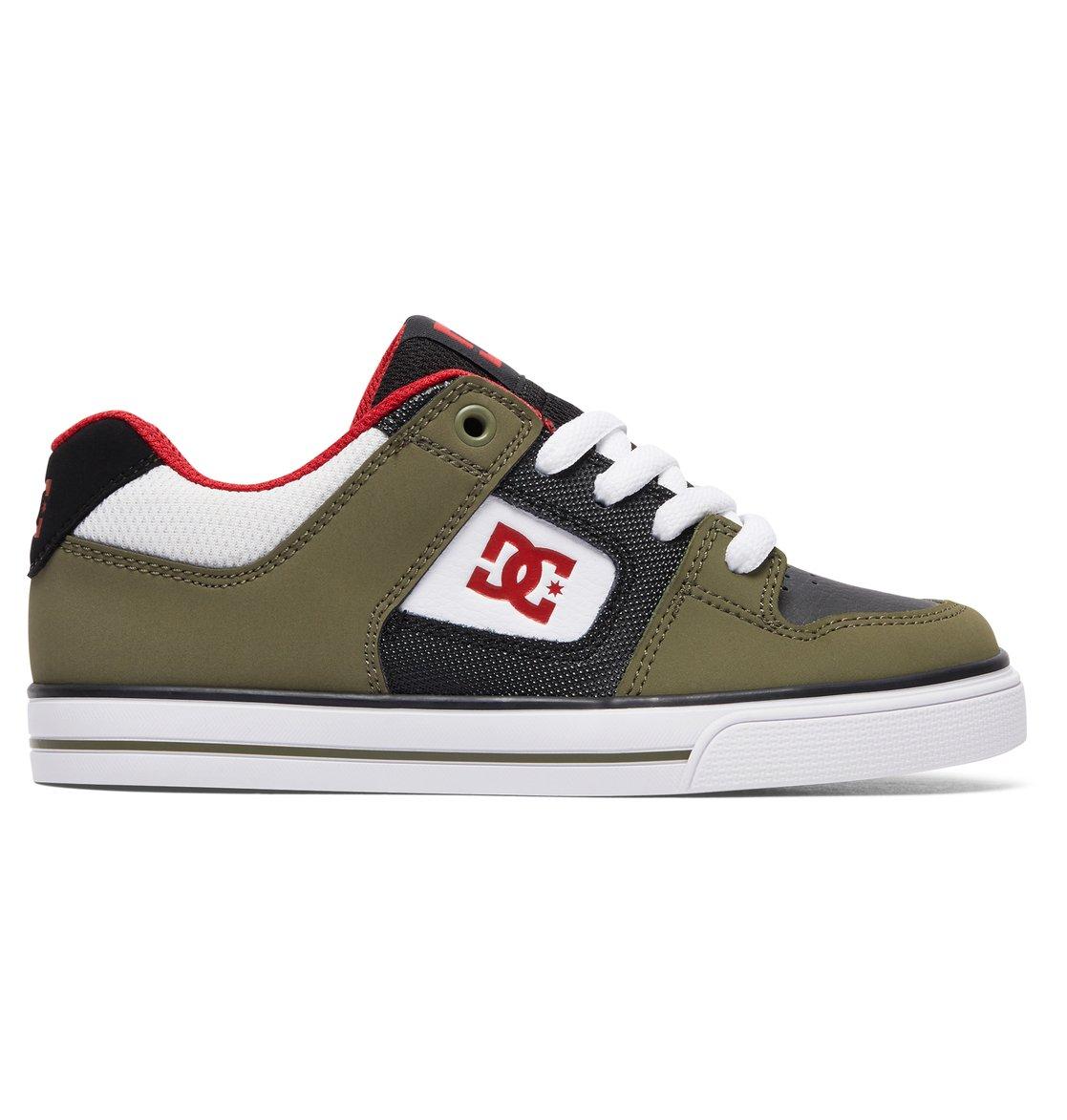 DC Shoes Pure - Shoes - Schuhe - Jungen - EU 37 - Grau 5KIjr0