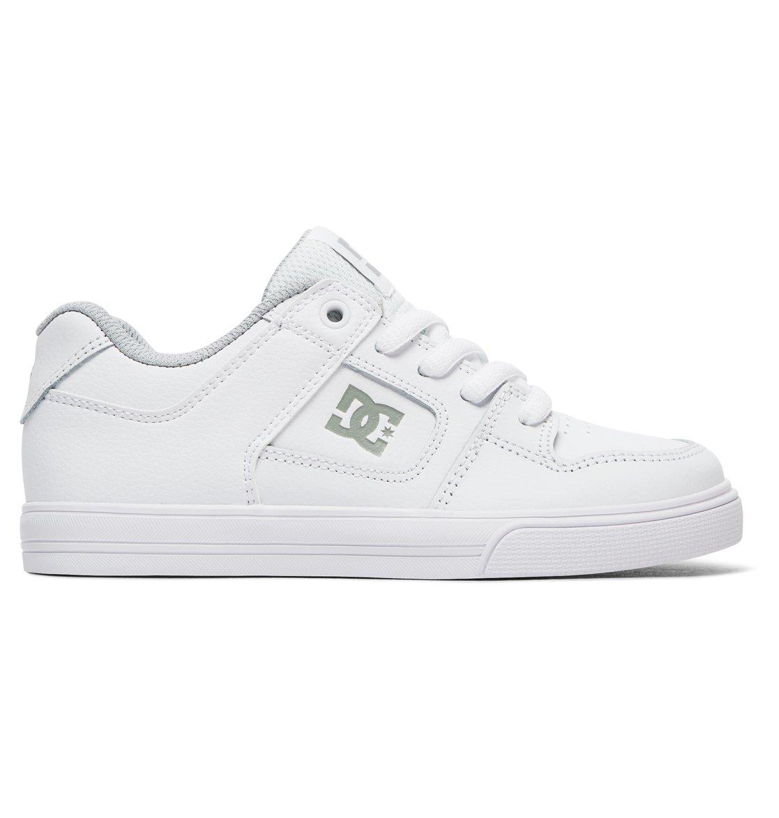 DC Shoes Pure - Shoes - Schuhe - Jungs 8-16 - EU 28 - Weiss cHi58y58