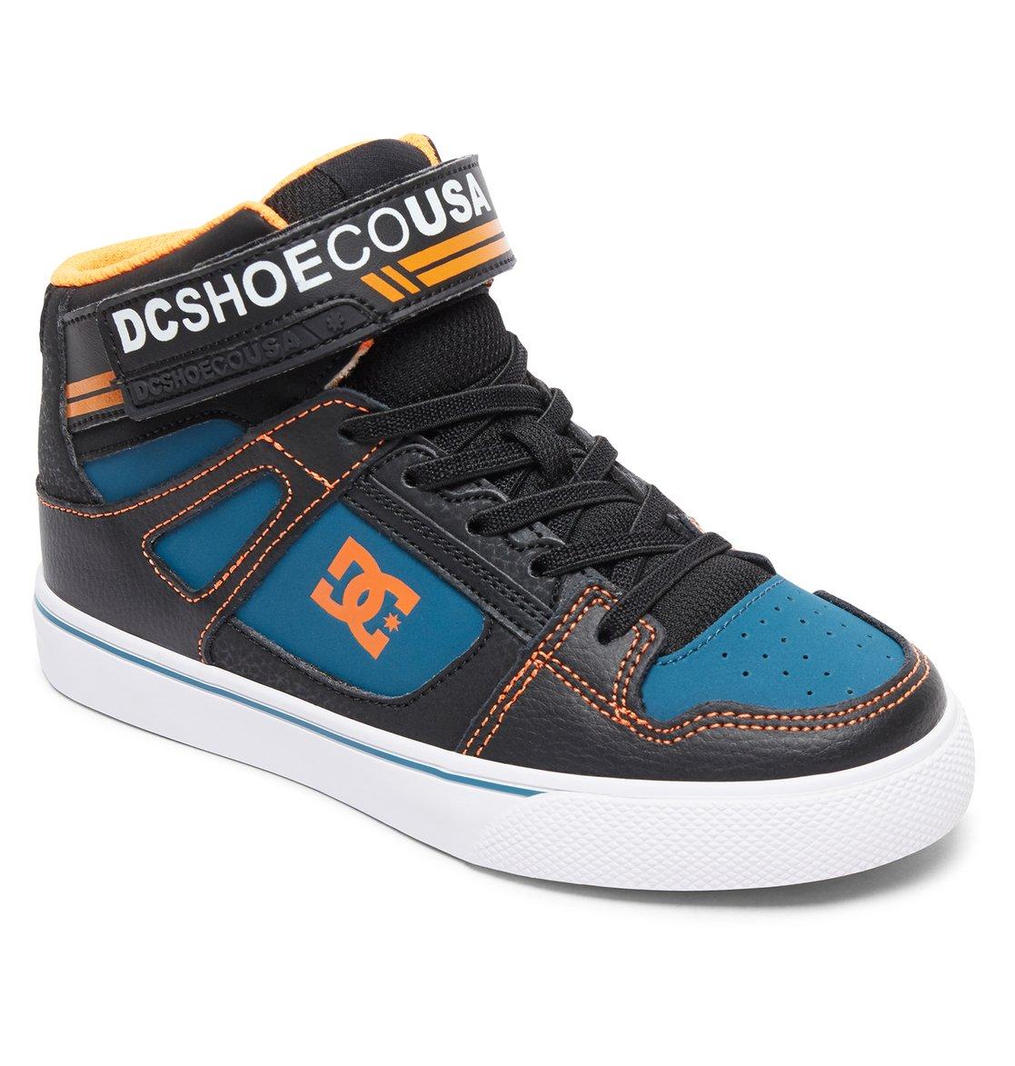 65c8a69742472 1 Pure High EV - Chaussures montantes pour garçon Noir ADBS300324 DC Shoes