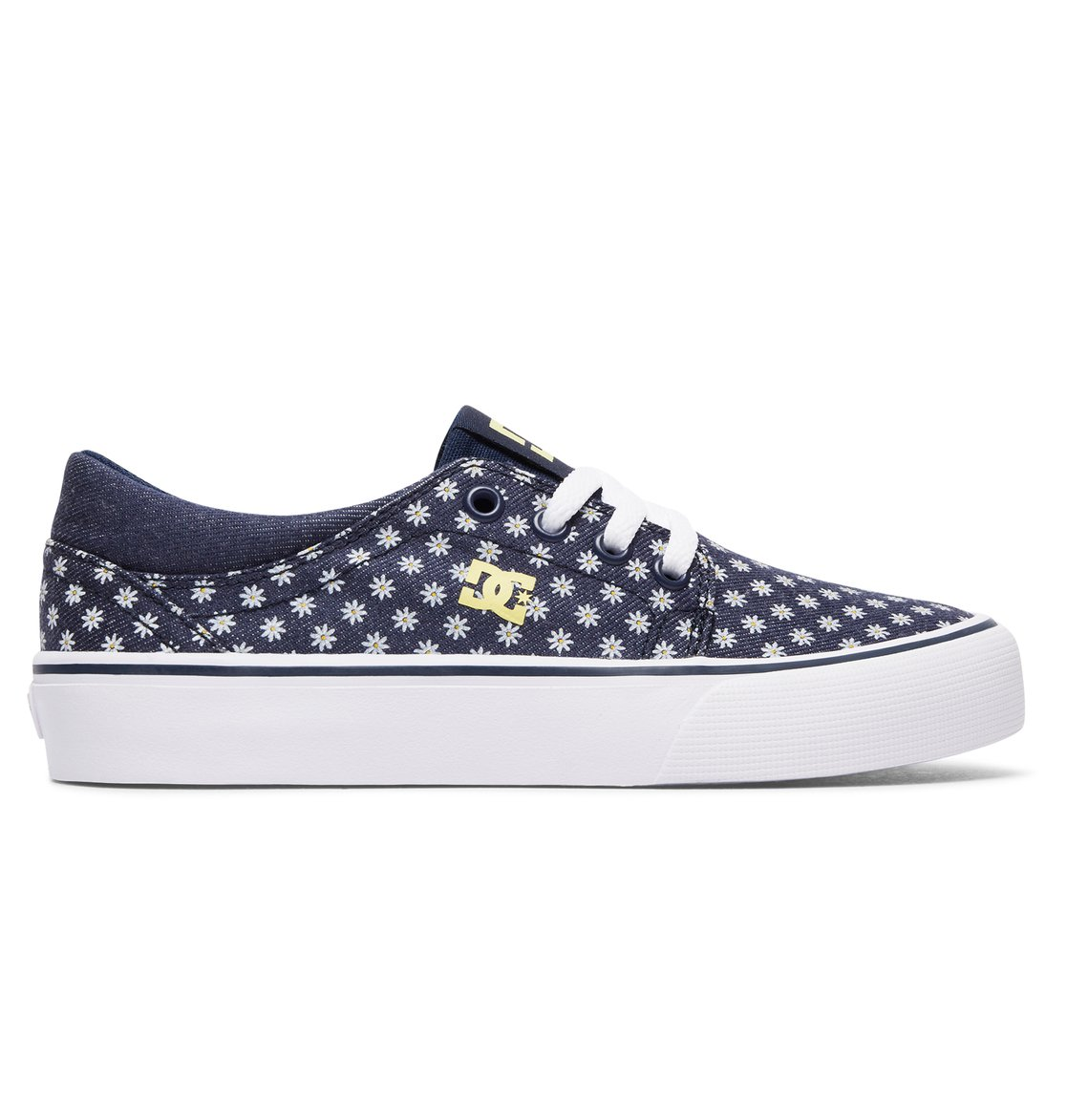 DC Shoes Trase Zapatillas Niños, Azul (Dark Navy), 32 EU (13 UK)