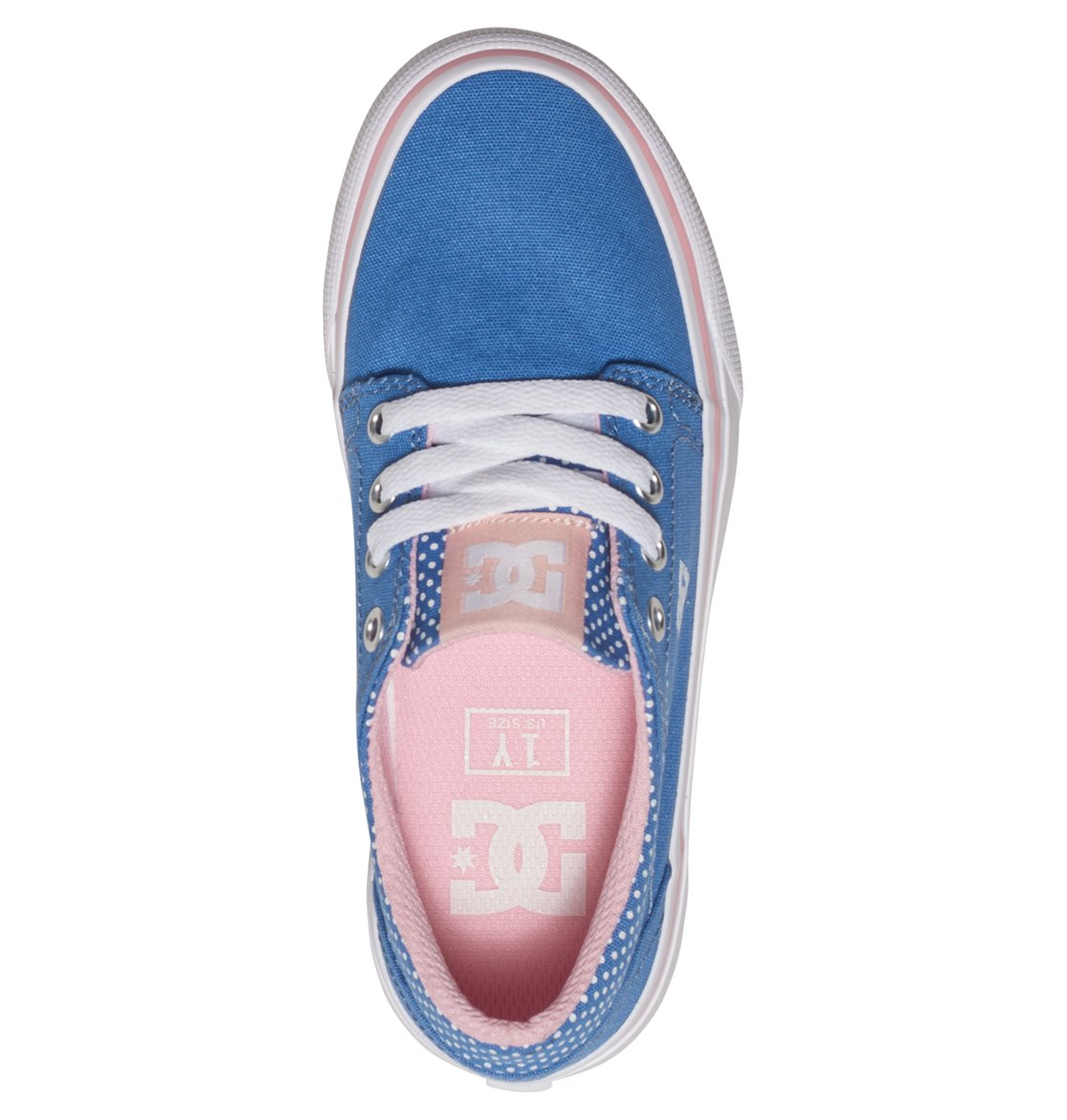 3 Trase TX SE - Shoes for Girls Blue ADGS300060 DC Shoes 4b2170c03f8