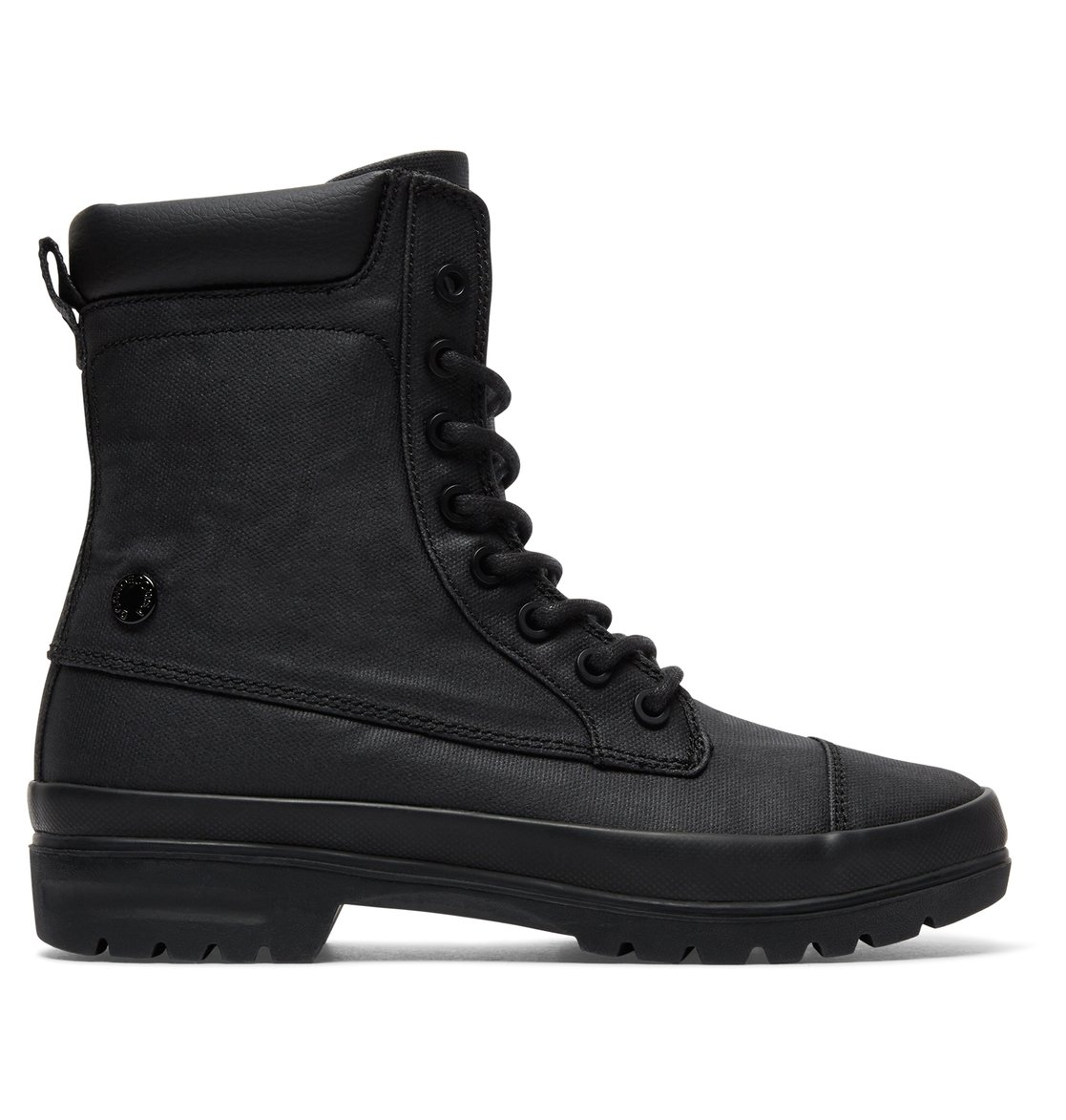 6daf5402349 0 Amnesti TX - Lace-Up Boots Black ADJB300009 DC Shoes