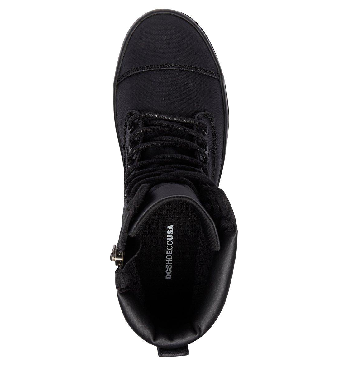 87b17a46b5f 3 Amnesti TX - Lace-Up Boots Black ADJB300009 DC Shoes