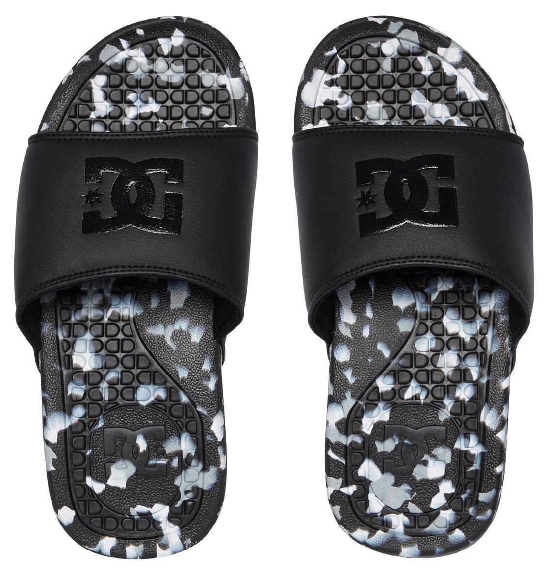 DC Shoes Badeschlappen »Bolsa LE«, schwarz, Black marl
