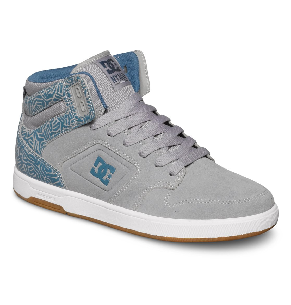 DC Shoes Nyjah High SE W Gris X4VOdM2Xsk