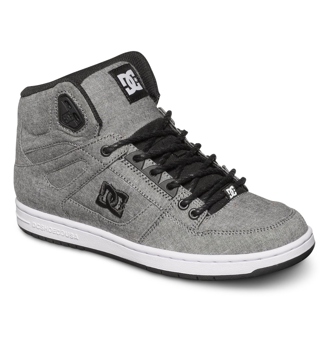 DC Shoes - DC Rebound Hi Womens Shoes - Navy