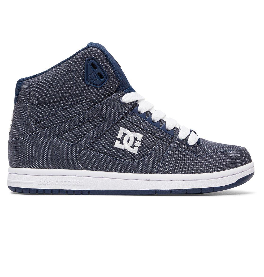 DC Rebound High Tx Blue Sneakers