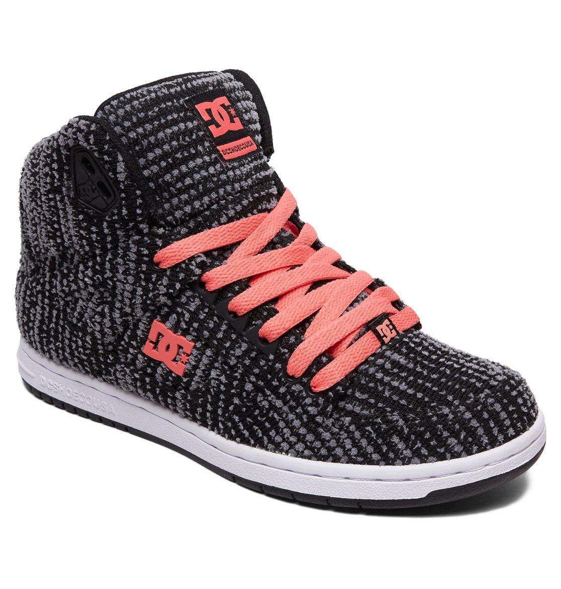 1 Women s Pure TX SE High Top Shoes Black ADJS100115 DC Shoes 61a76f3557