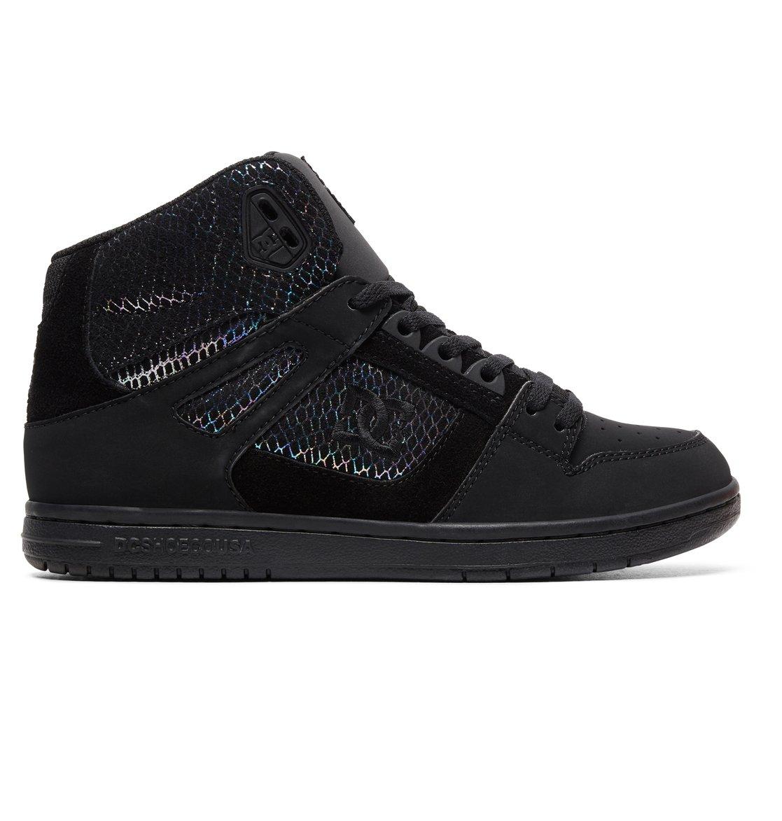 0 Women s Pure SE High-Top Shoes Grey ADJS100116 DC Shoes 7089ce8e6f