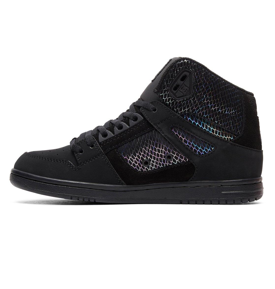 2 Women s Pure SE High-Top Shoes Grey ADJS100116 DC Shoes 785538e4b7